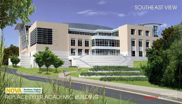 NVCC Tyler Academic Building